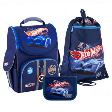 Набор рюкзак + пенал = сумка для обуви в ПОДАРОК Kite 501 HW-2